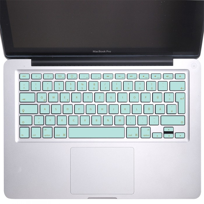 Elegant Blue Keyboard Stickers for MacBook (KB-0017)