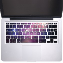 Galaxy Keyboard Stickers for MacBook