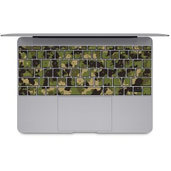 Camouflage Army Keyboard Stickers for MacBook