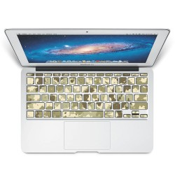 Camouflage patterns army Woodland Keyboard Stickers for MacBook
