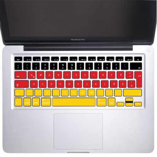 Germany Flag Keyboard Stickers for MacBook