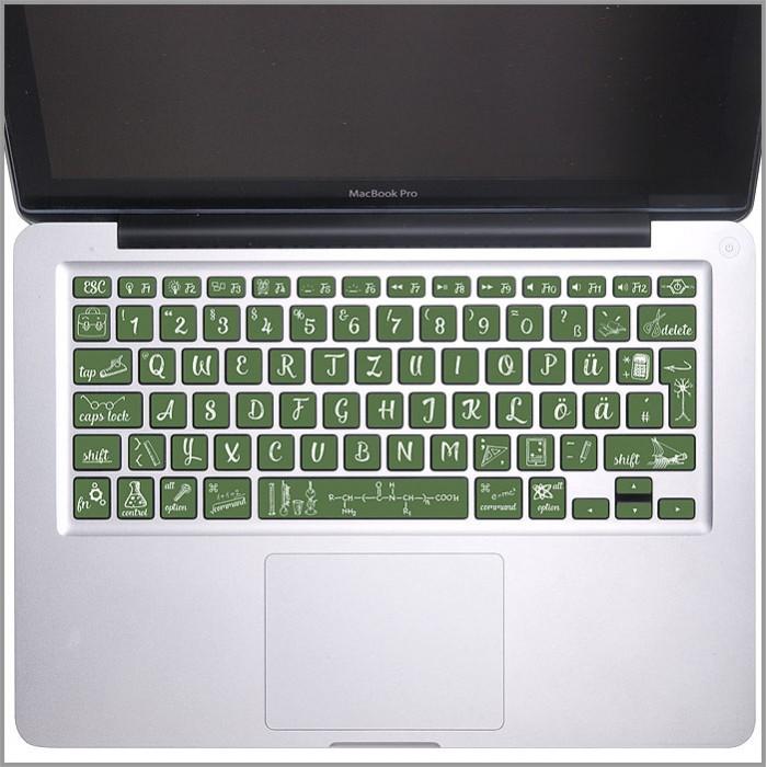 back to school blackboard chalk keyboard keyboard stickers for macbook