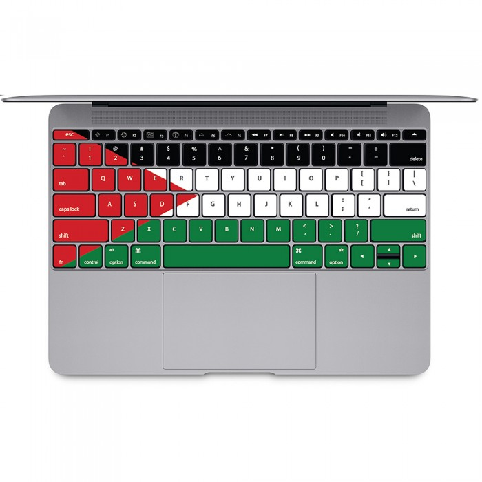palestinian flag tastatur aufkleber f r macbook. Black Bedroom Furniture Sets. Home Design Ideas