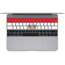Egyptian flag Keyboard Stickers for MacBook
