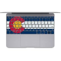 Colorado flag Keyboard Stickers for MacBook