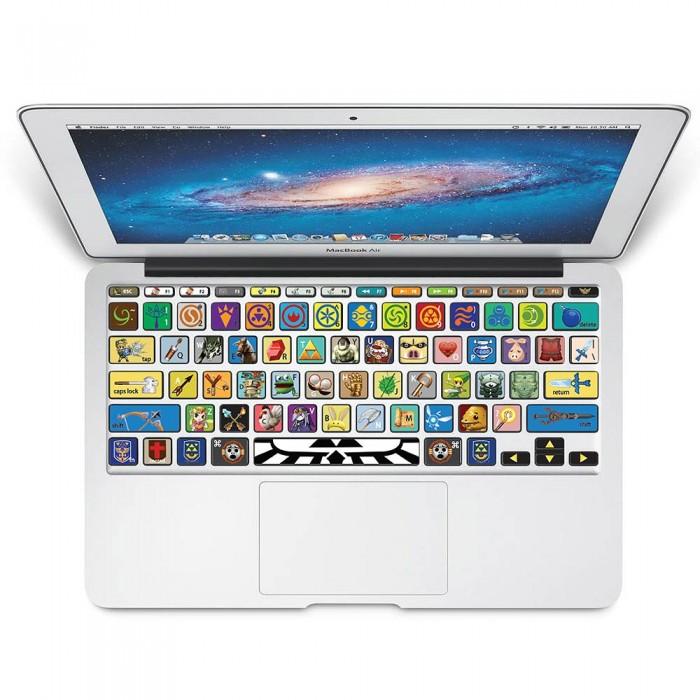 The Legend Of Zelda Keyboard Stickers For Macbook