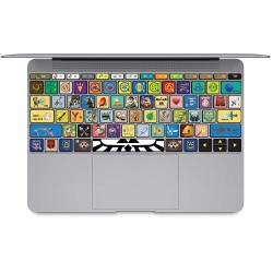 The Legend of Zelda  Keyboard Stickers for MacBook