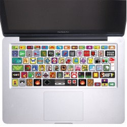 Nintendo Game Keyboard Stickers for MacBook