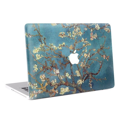 Vincent Van Gogh - Blossoming Almond Tree  Apple MacBook Skin / Decal