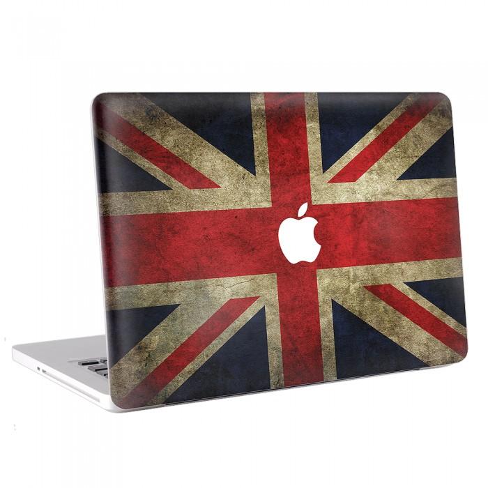 Great Britain , England , UK  Flag   MacBook Skin / Decal  (KMB-0006)