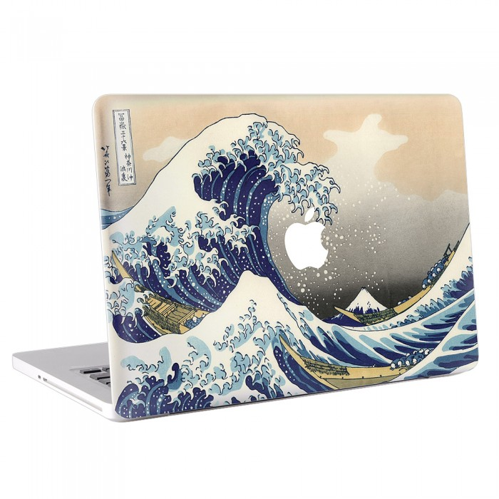 The Great Wave off Kanagawa MacBook Skin / Decal  (KMB-0007)