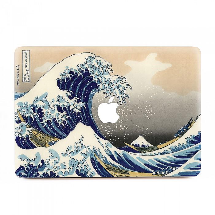 The Great Wave Off Kanagawa Macbook Skin Decal