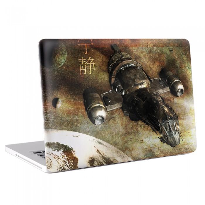 Firefly Serenity spaceship / spacecraft MacBook Skin / Decal  (KMB-0024)