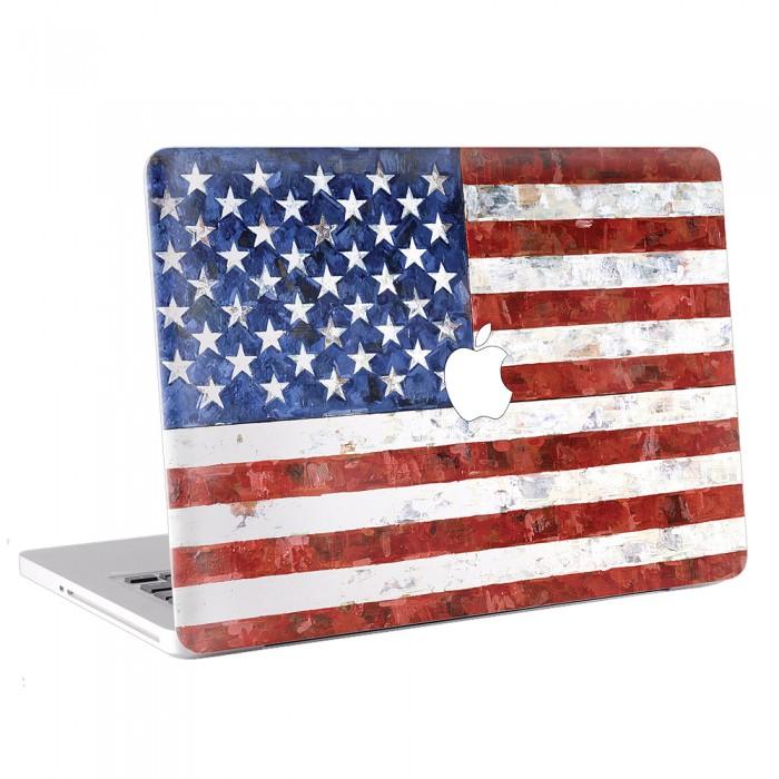 American Flag Macbook Skin Decal