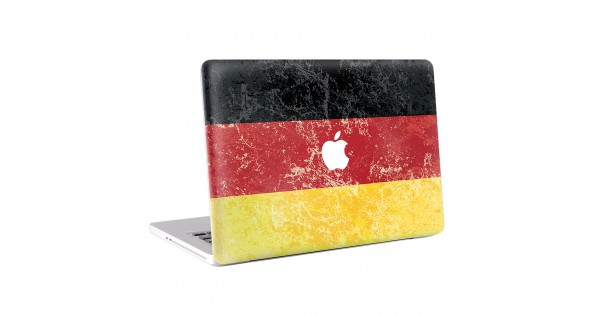 flagge deutschland macbook skin aufkleber. Black Bedroom Furniture Sets. Home Design Ideas