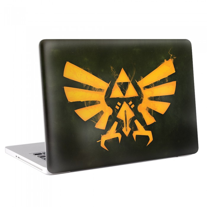 The Legend of Zelda Triforce MacBook Skin / Decal  (KMB-0057)