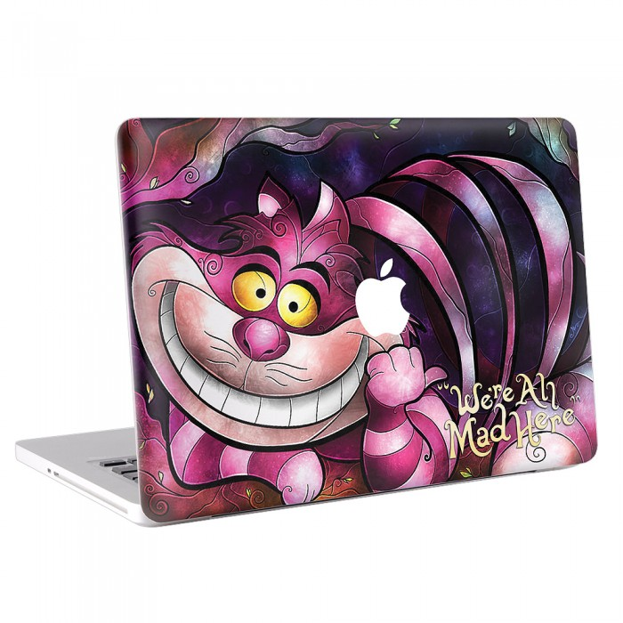 The Cheshire Cat - Alice in Wonderland MacBook Skin / Decal  (KMB-0062)