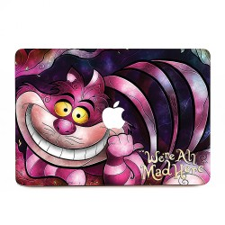 The Cheshire Cat - Alice in Wonderland Apple MacBook Skin / Decal