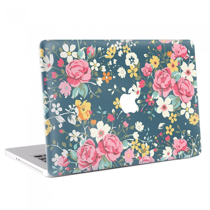 Vintage Rose Version 3 MacBook Skin / Decal  (KMB-0064)