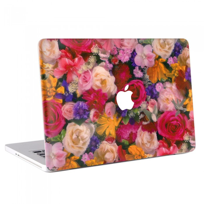 Vintage Flower MacBook Skin / Decal  (KMB-0065)