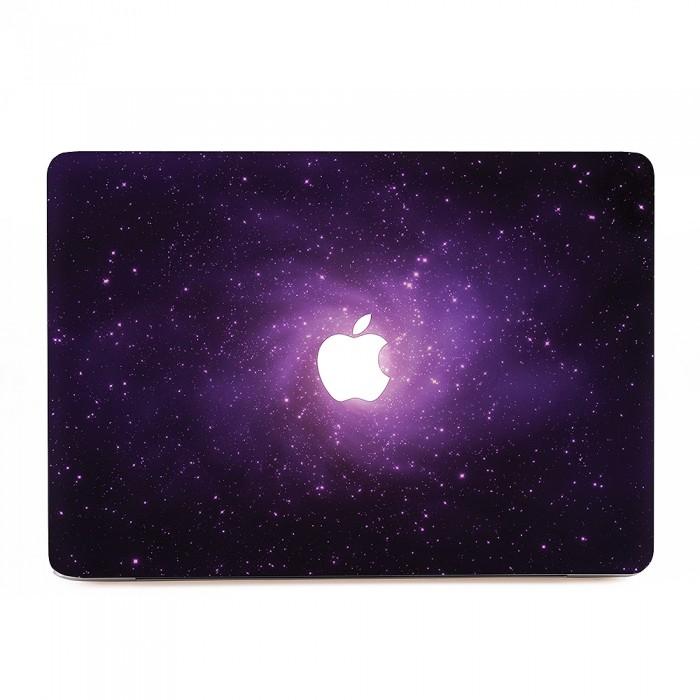 pink galaxy macbook skin decal