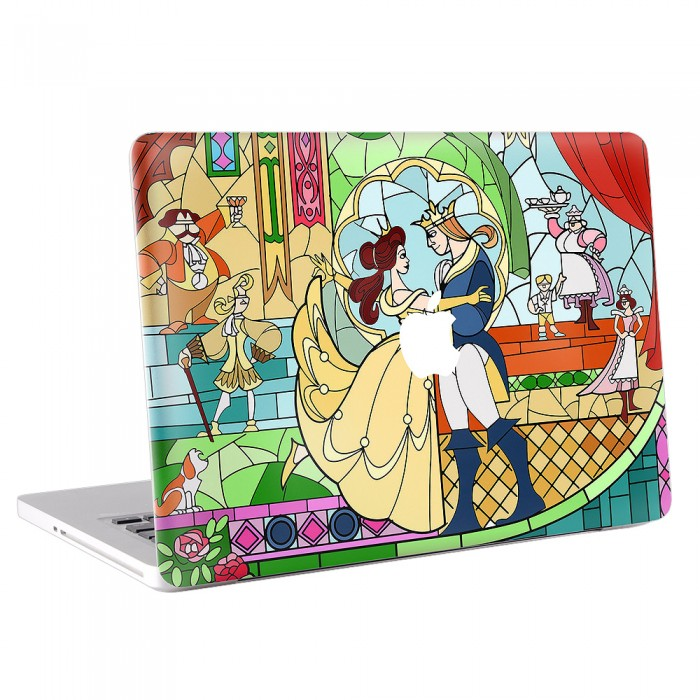 Beauty and The Beast  MacBook Skin / Decal  (KMB-0075)