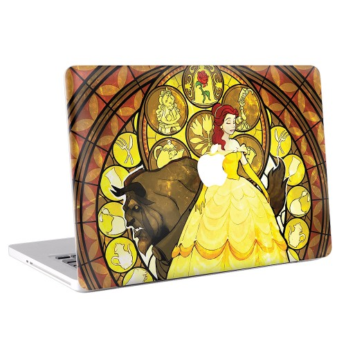 Beauty and the Beast  Apple MacBook Skin / Decal