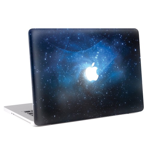 blau sterne galaxie macbook skin aufkleber. Black Bedroom Furniture Sets. Home Design Ideas
