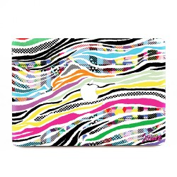 das buntes Zebra Apple MacBook Skin / Decal