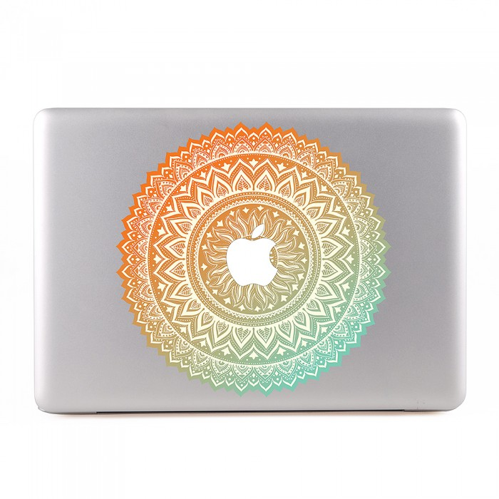 Ornamental Mandala type 5 MacBook Skin / Decal  (KMB-0120)