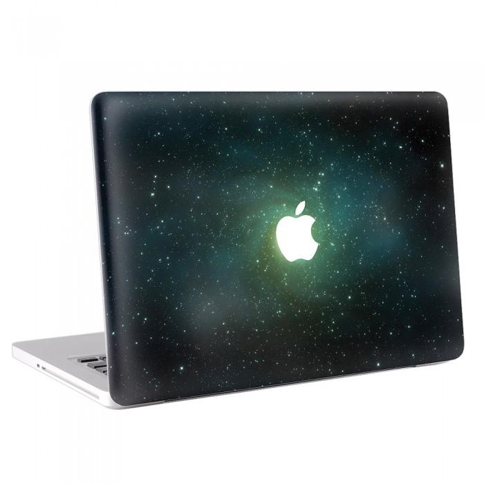 Green Galaxy  MacBook Skin / Decal  (KMB-0136)