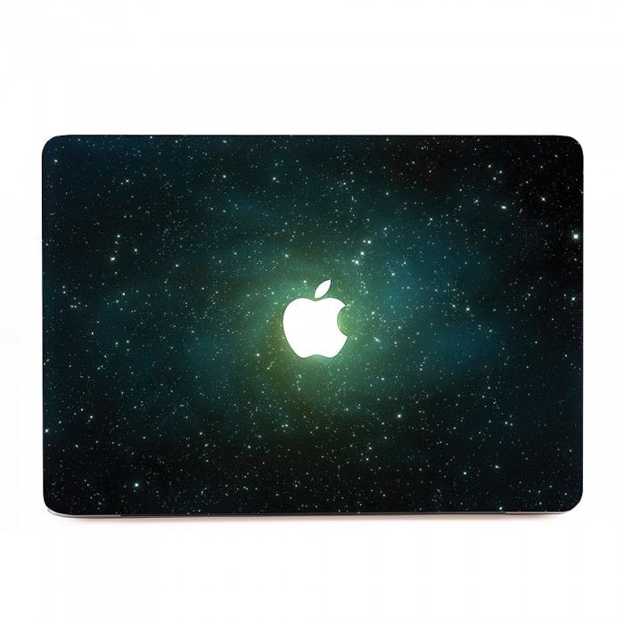 green galaxy macbook skin aufkleber. Black Bedroom Furniture Sets. Home Design Ideas