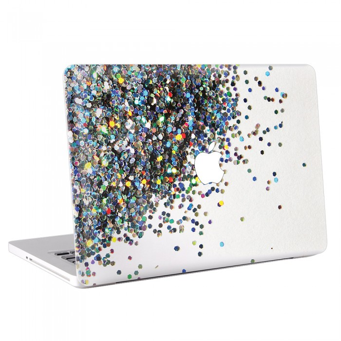 glitter macbook skin aufkleber. Black Bedroom Furniture Sets. Home Design Ideas