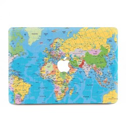 World Map 2 Apple MacBook Skin / Decal