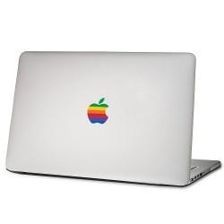 Vintage Apple Computer Rainbow Logo Decal Sticker