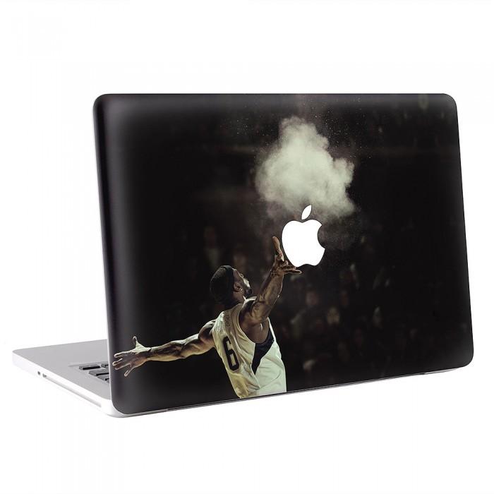 finest selection 8fa7a f9a72 LeBron James Basketball MacBook Skin / Decal (KMB-0173)