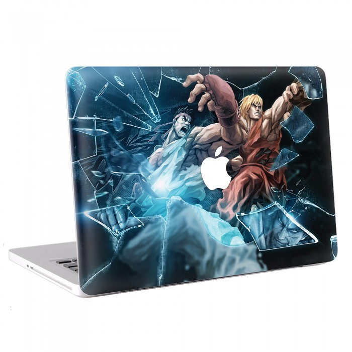 Street Fighter Tekken Ryu Ken MacBook Skin / Decal  (KMB-0185)