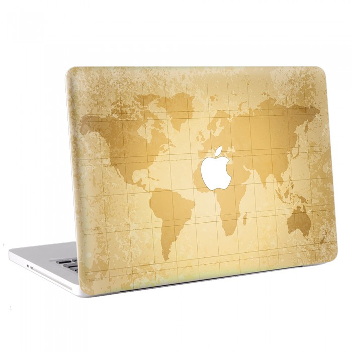 Map World  MacBook Skin / Decal  (KMB-0186)
