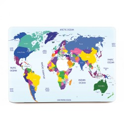 Map World  #1 Apple MacBook Skin / Decal
