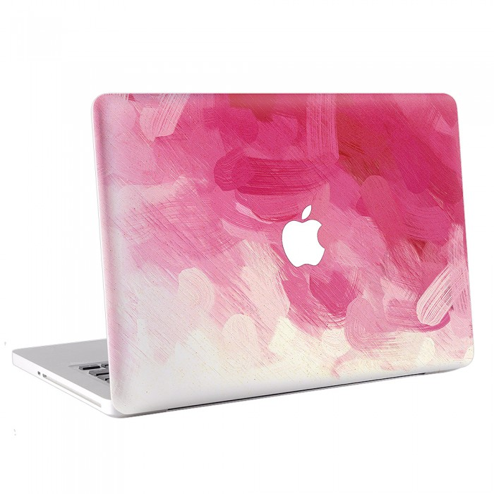 rosa wasserfarben kunst macbook skin aufkleber. Black Bedroom Furniture Sets. Home Design Ideas