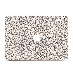 Because Cat I Apple MacBook Skin / Decal