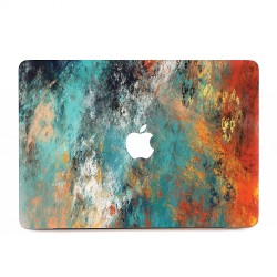 Abstract Paint Art Apple MacBook Skin / Decal
