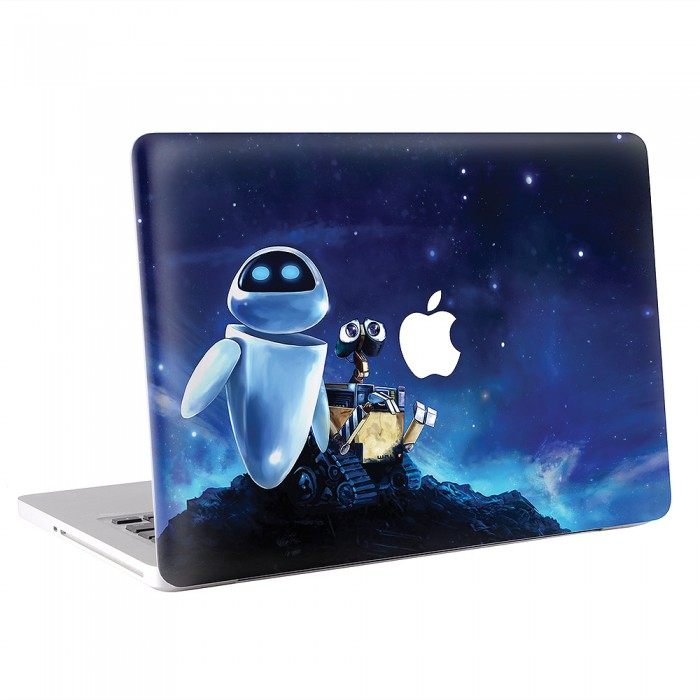 Wall-E and Eva MacBook Skin / Decal  (KMB-0212)