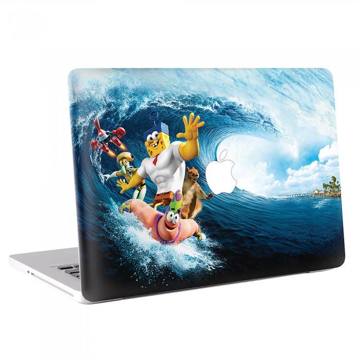 The Spongebob MacBook Skin Decal - Spongebob macbook decal