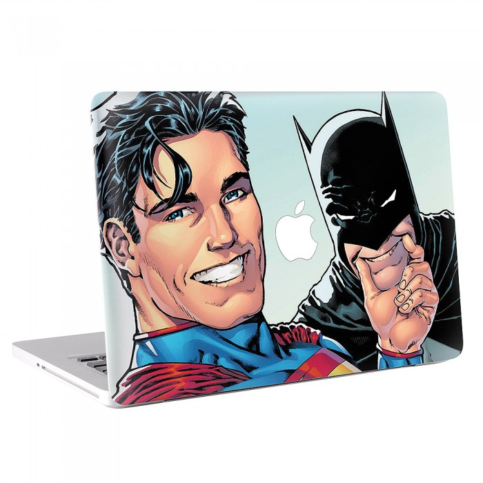 Superman and Batman Selfie MacBook Skin / Decal  (KMB-0244)