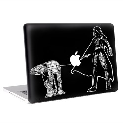 Darth Vader walking AT-AT Walker Apple MacBook Skin / Decal