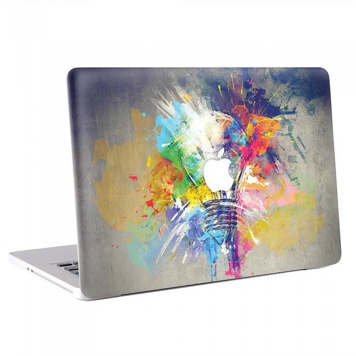 Creative Idea Lamp Art MacBook Skin / Decal  (KMB-0258)