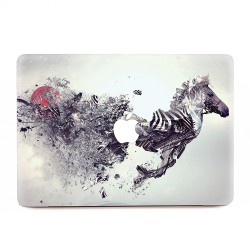 Abstract Zebra Apple MacBook Skin / Decal