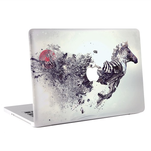 Abstract Zebra Apple MacBook Skin / Decal