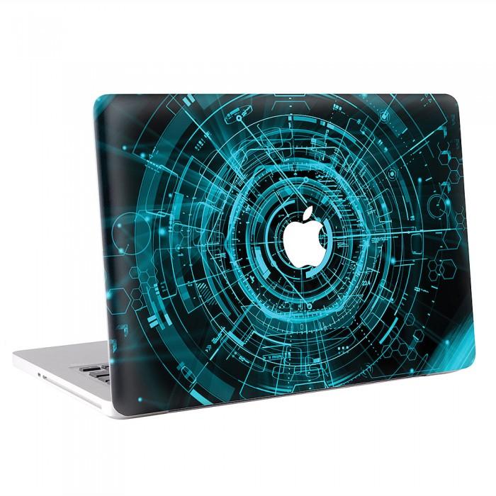 Techno MacBook Skin / Decal  (KMB-0280)